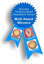 Business achievers award - hospitality & tourism - Multi award winners